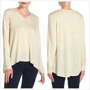 NEW Eileen Fisher Merino Wool High/Low Sweater